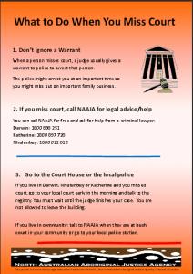 Warrants Poster